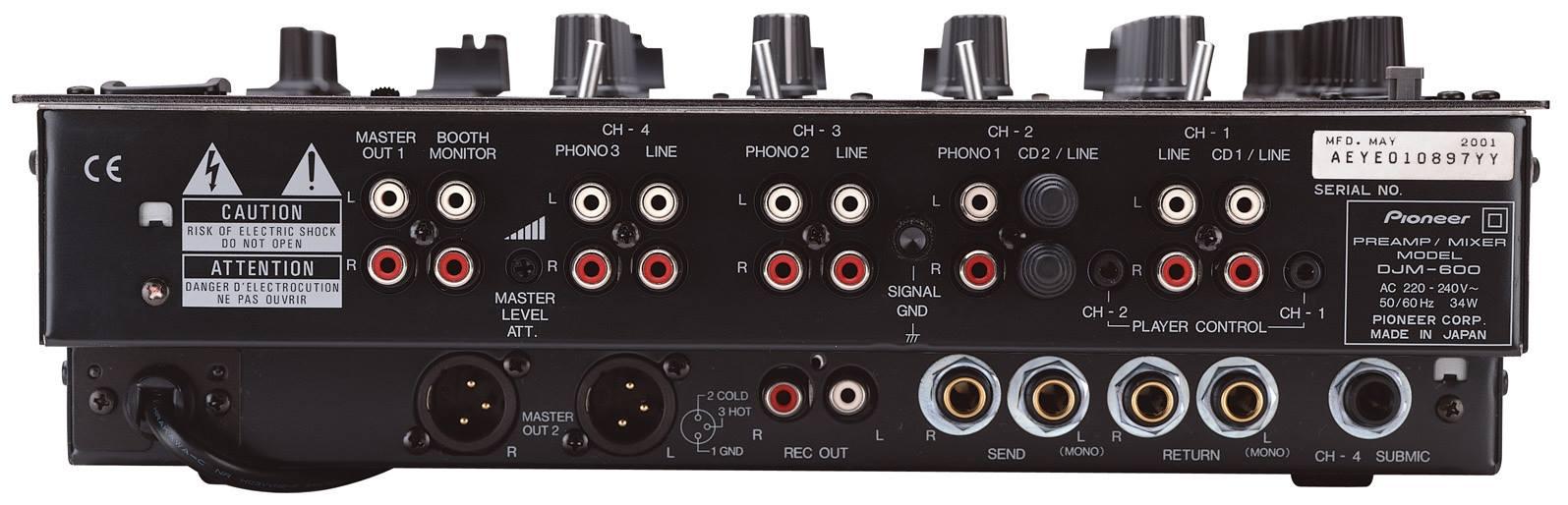 03. Pioneer DJM-600